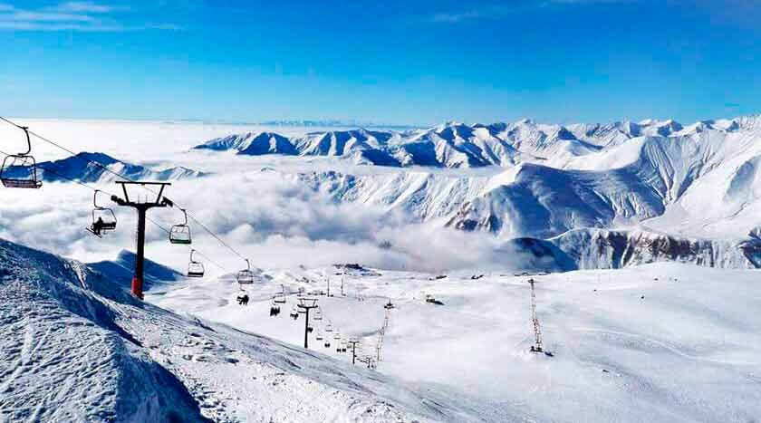 WINTER FAIRY TALE WITH REST IN HUDAURI